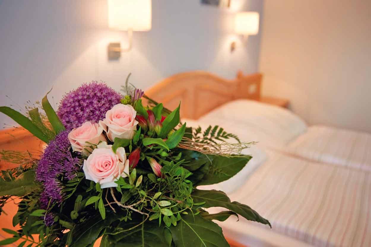 Alle Hotelzimmer snd geschmackvol eingereichteti